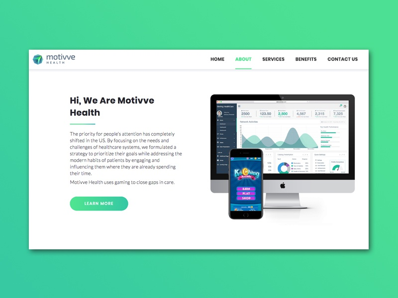 Motivve Website responsive web design website webdesign
