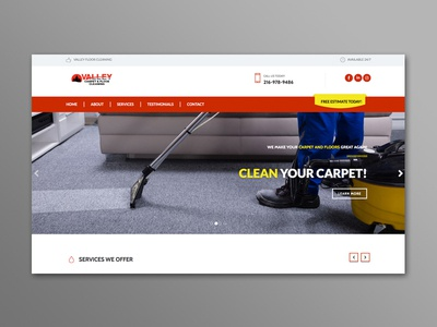 Valley Floor Cleaning Website