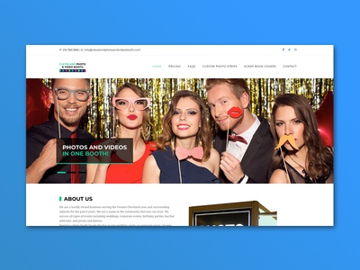 Cleveland Photo and Video Booth Website
