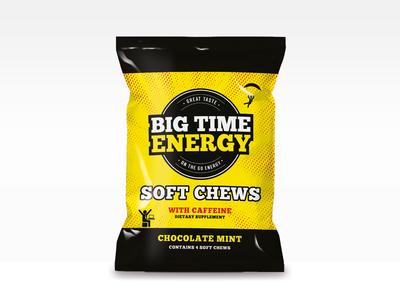 Big Time Energy retail amazon packaging logo design branding