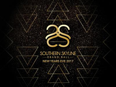 Southern Skyline Grand Ball concert festival branding logo design event branding