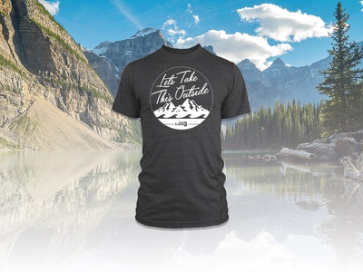 Earth Travel Apparel sportswear outdoors merchandising tshirt design
