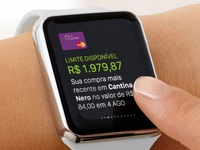 Nubank Apple Watch - Glance