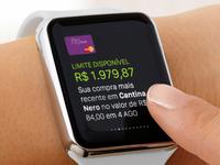 Nubank Apple Watch - Glance