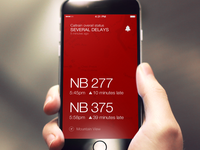 Caltrain Status App