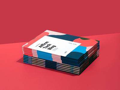 Affirm Tech Blog Book typogaphy print photograhy pattern design branding art direction