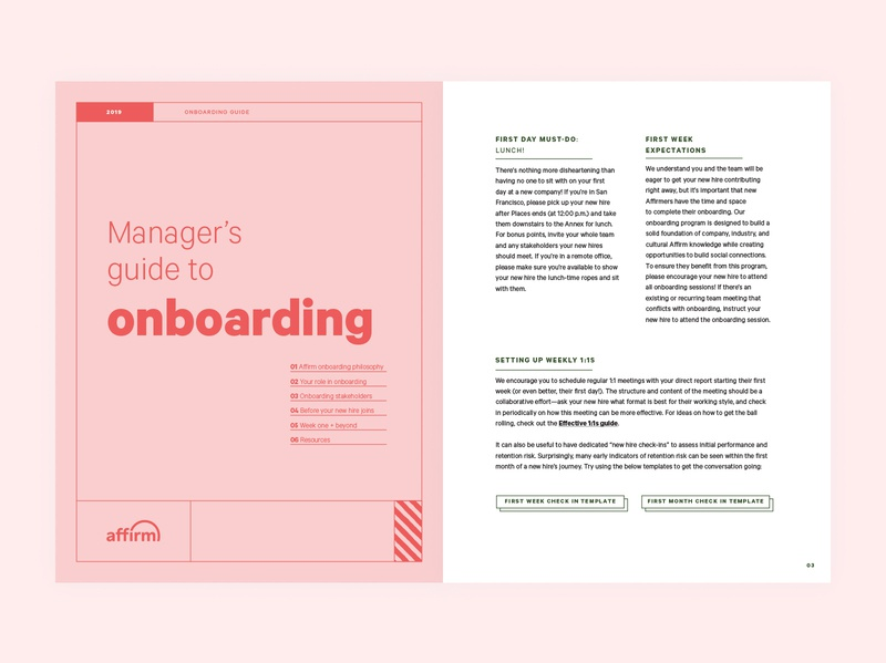 Manager's Onboarding Guide