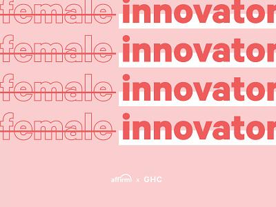 Grace Hopper Conference 2019 vector shapes typography design branding art direction
