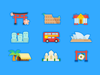 Icons For Trip