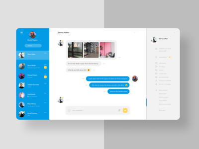 Daily UI 013  Messaging