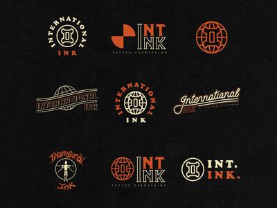 International Ink Logo Flash