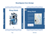 Dong Hanh boardgame box design