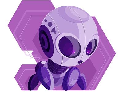 Robot4 illustracion characterdesign vector vector art illustration art