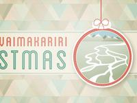 An early Christmas card concept