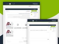 Dashboard Mail UI Design