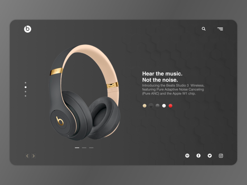 Beats By Dr. Dre identity bitcoin lettering type website web typography minimal logo flat branding app ux ui interface design