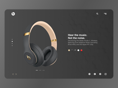 Beats By Dr. Dre identity bitcoin lettering type website web typography minimal logo flat branding app ux ui interface design