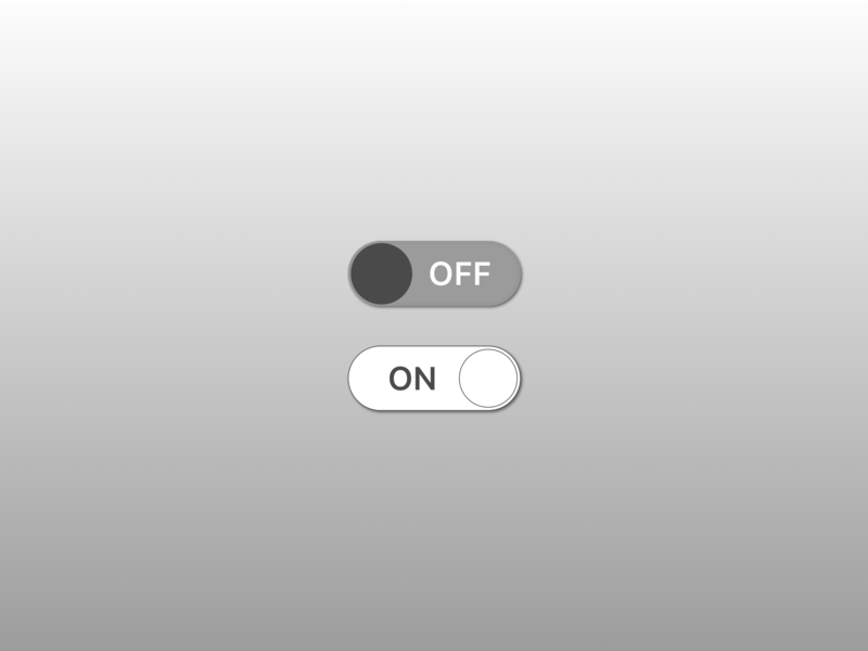 Daily UI #015 On/Off Switch 015 on off switch on off designchallenge daily ui dailyui daily 100 challenge design ui