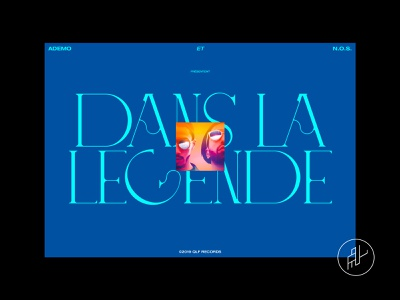 PNL - la discographie webdesign interface ui red lettering digitaldesign artdirection graphicdesign music pnl