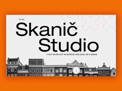Skanič Studio - principle test graphicdesign interface design webdesign principle ux ui