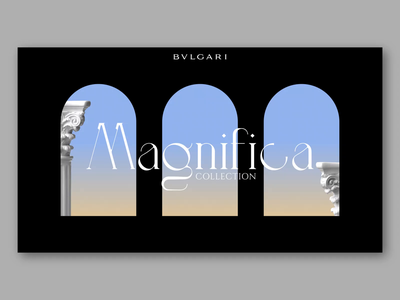 BULGARI - Magnifica collection italy diamond product motion design interaction interface graphicdesign gradient bulgari jewels ux ui aftereffects animation