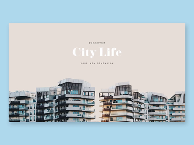 CITY LIFE Milano - HP animation milano citylife graphicdesign website web ux ui typography photo motion interface interaction grid gif architecture design concept animation