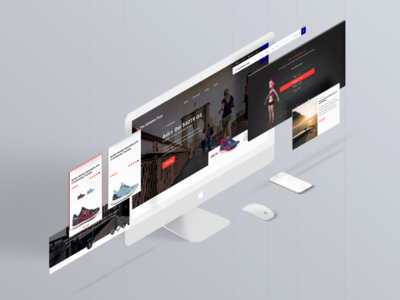 Athlete's Foot ui website webdesign redesign mockup athletes foot