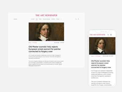 News and Podcast pages interface website web ux ui minimal minimalism magazine
