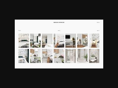 Minimalist web design for Interior designer from Russia ui ux website ux ui minimalist website minimalism minimal minimal design interior designer website interior designer portfolio designer portfolio architecture website