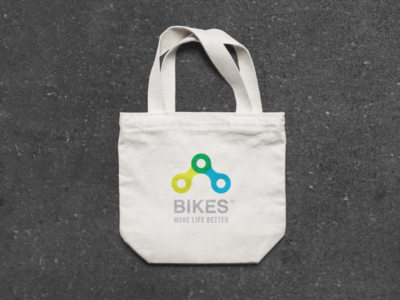 Bikes Make LIfe Better Branding product design merchandise icon illustrator cc font company advertisement branding design vector illustration color brand after effects branding logo design identity