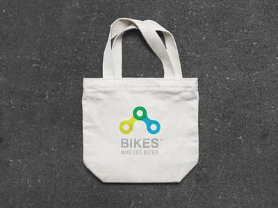 Bikes Make LIfe Better Branding product design merchandise icon illustrator cc font company advertisement branding design vector illustration color brand after effects branding logo design identity