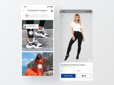 Shoppable Instagram – ecommerce