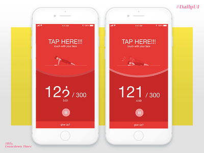 Daily UI #014 Countdown Timer app ui daily timer countdown