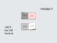 #015 On/Off Switch Daily UI