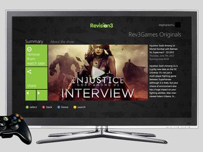 Revision3 Xbox Live App