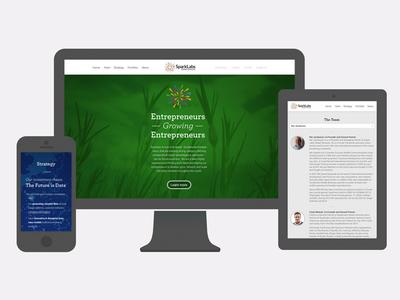 Sparklabs Global Ventures Responsive Web Design