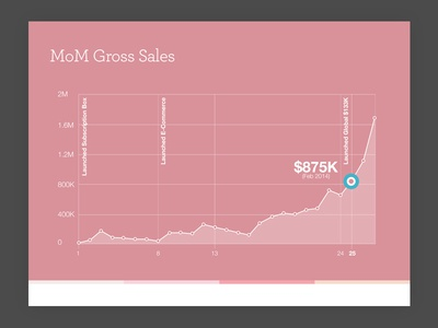 Gross Sales Over Time Graph