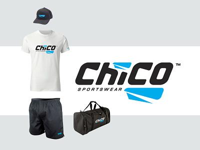 Chico Sportswear hockey sports training apparel fashion branding sports brand sportwear sportwear logo logo design hockey equipement