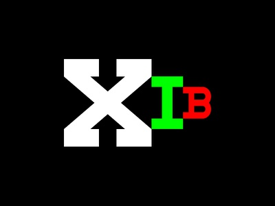 XIB Magazine Logo Design logo logo design logotype branding brand design magazine logo