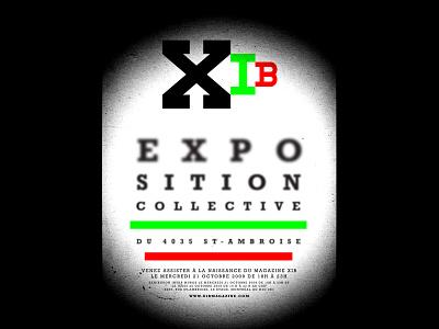 XIB Magazine Poster Design branding brand design logo design magazine logo poster design event poster design exhibition poster design art exhibition