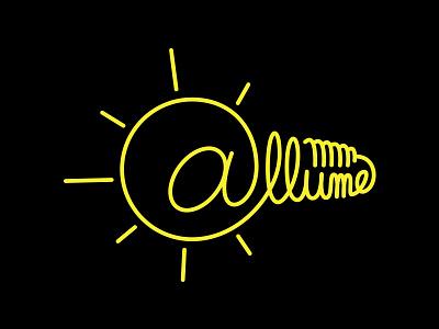 @llume lettering lettering design logo logo design branding brand design