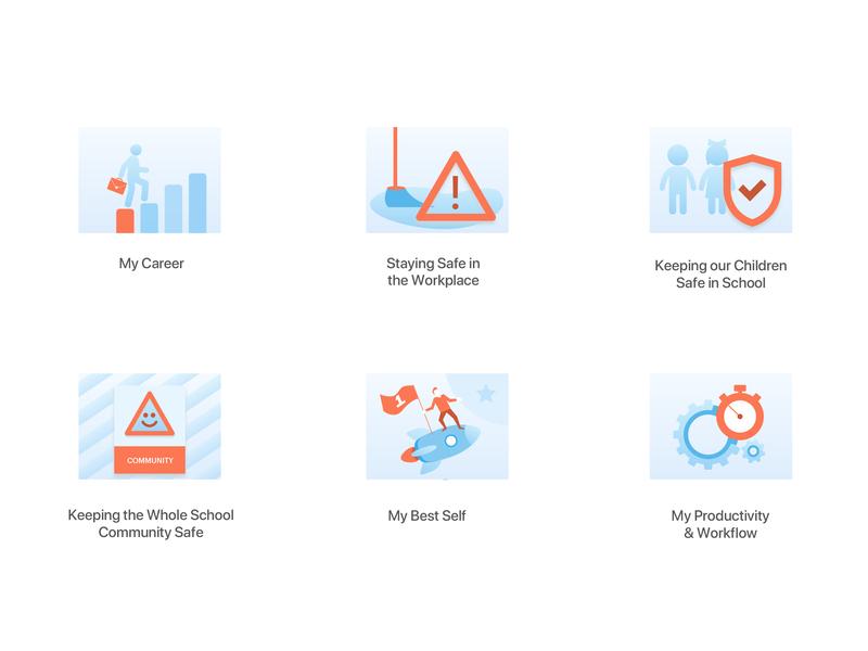 Complilearn Icons illustration icon design design icons