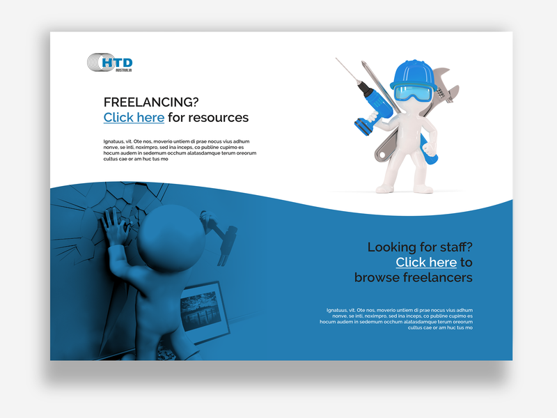 Landing Page Design for New Client whitemen fundesign newclient landingpage