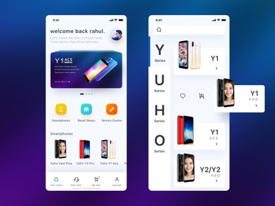Smartphones Store App