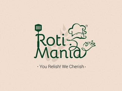 Roti Mania Logo facebook vector logo illustration ads design illustrative ads branding socialmedia campaign