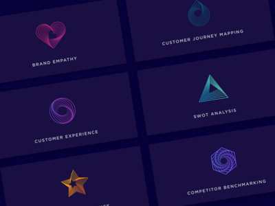 Brand Exploration typography icon icons design line art brand brand and identity vector artwork shapes illustration design