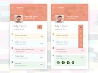 Task Timeline App Design