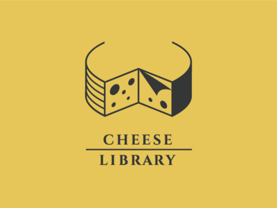 Logo for the cheese brand called Cheese Library