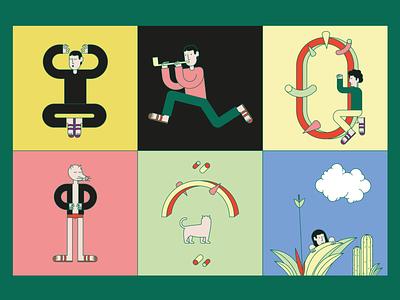 Movimento (personaggi) minimalist minimalism minimal character ai movimento characters animation puppets flat illustrazione illustration flatillustration flatcolor