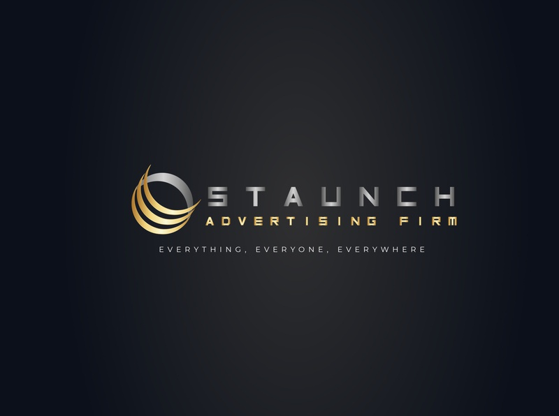 staunch advertising firm logo branding logo